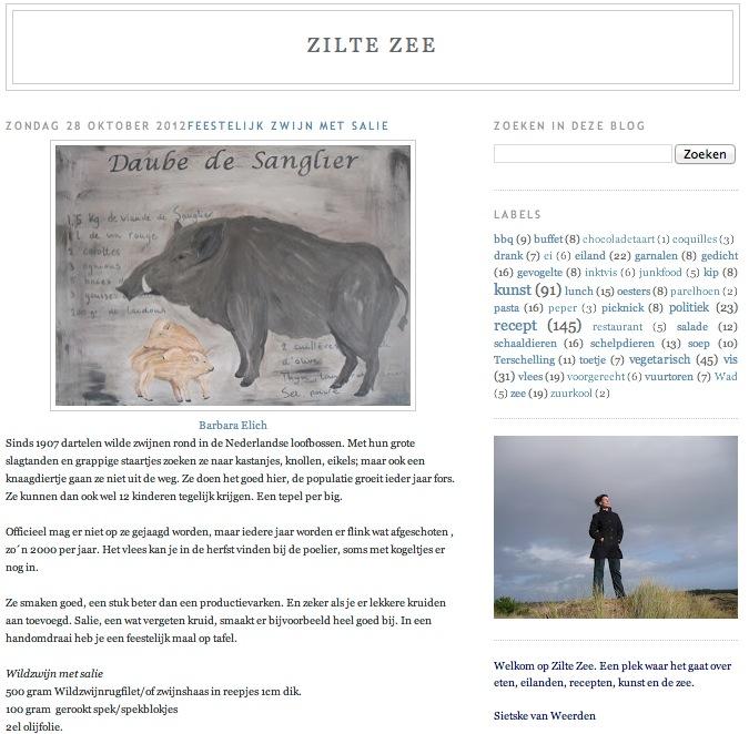 E3M Artistiek - Blog Zilte Zee